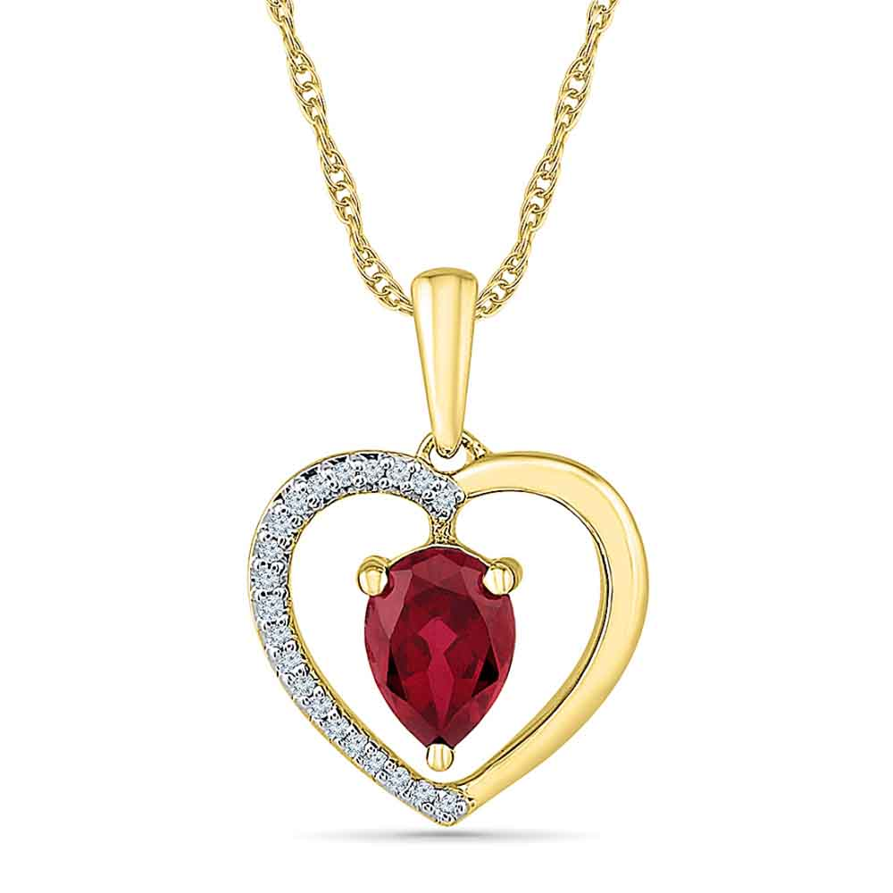 Magic Ruby Pendant
