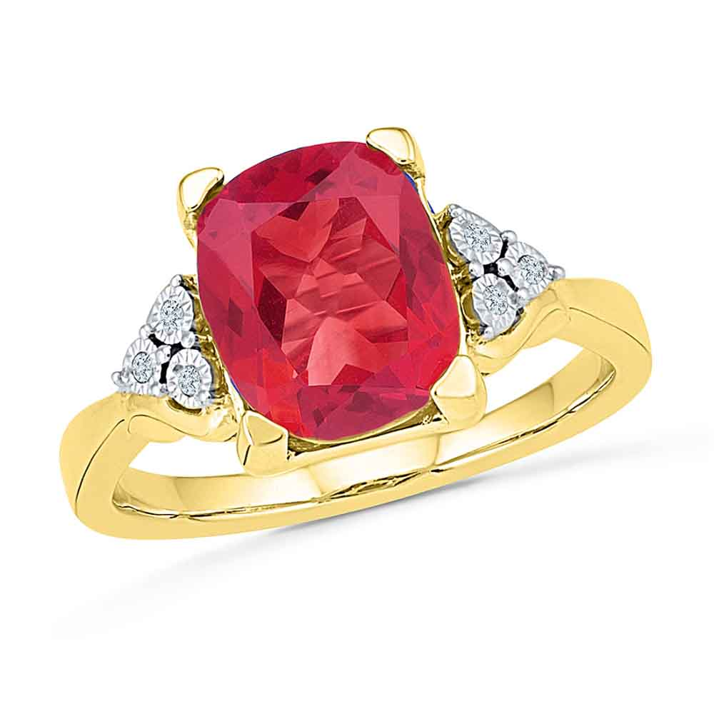 Suitable Ruby Finger Ring
