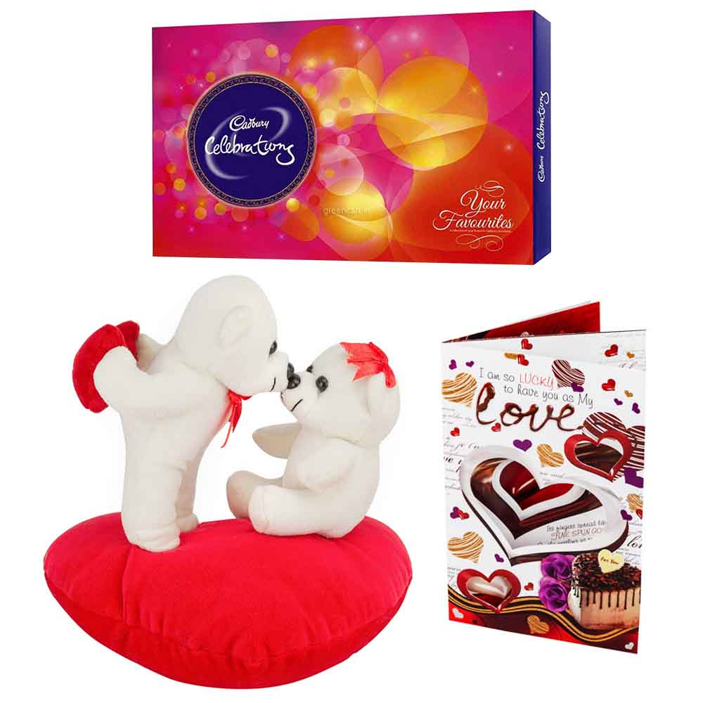 Cadburys Celebrations with Kiss Me Teddys