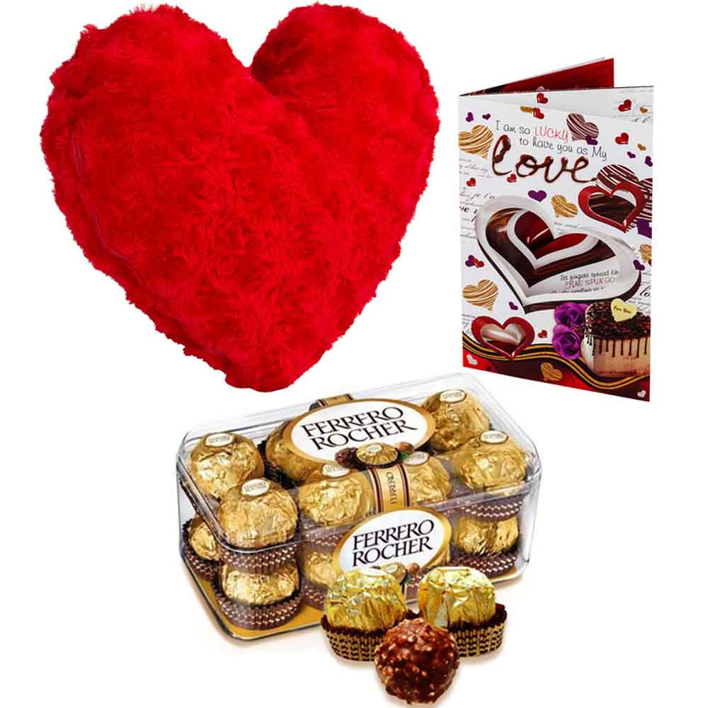 Ferero Rocher with stuffed Velvety Heart