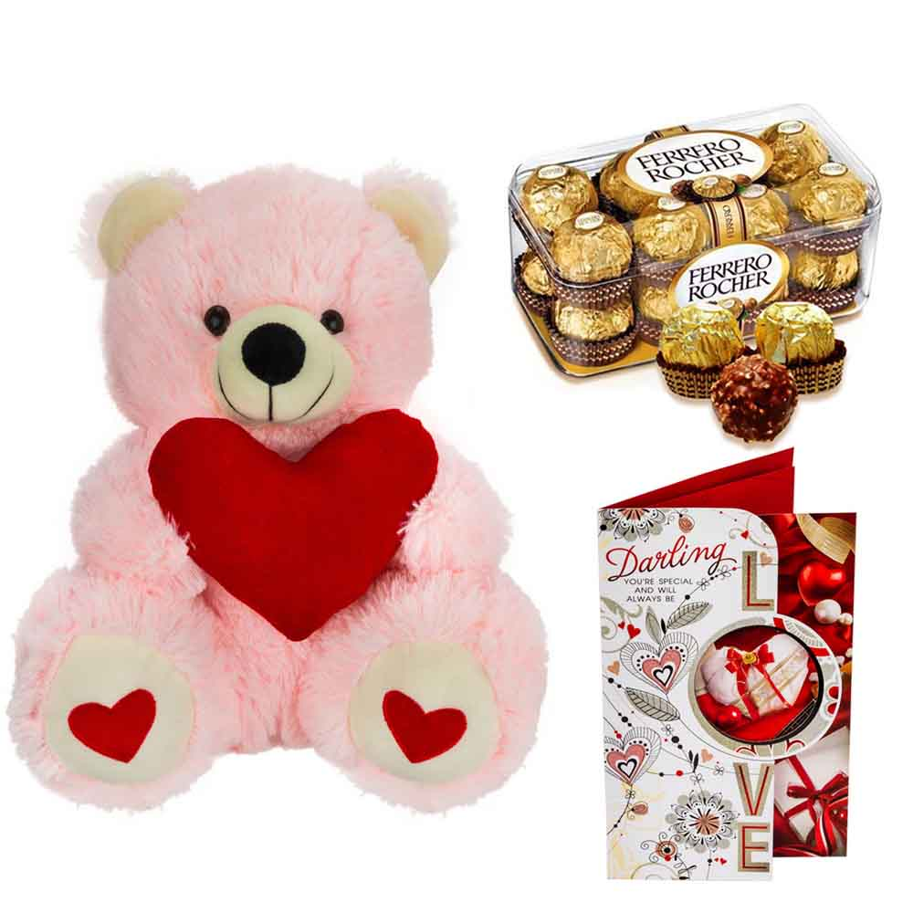Ferero Rocher with Cuddly Bear