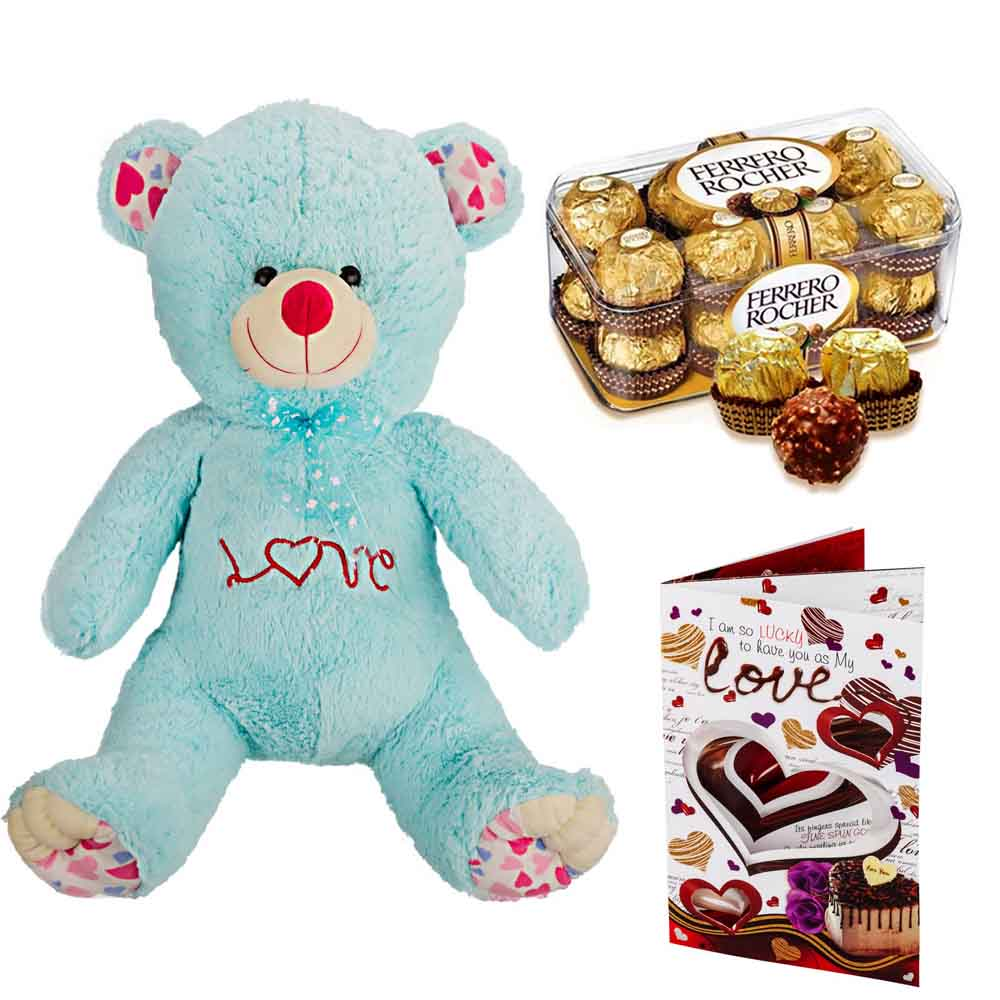 Ferero Rocher with Cuddly Grand Bear