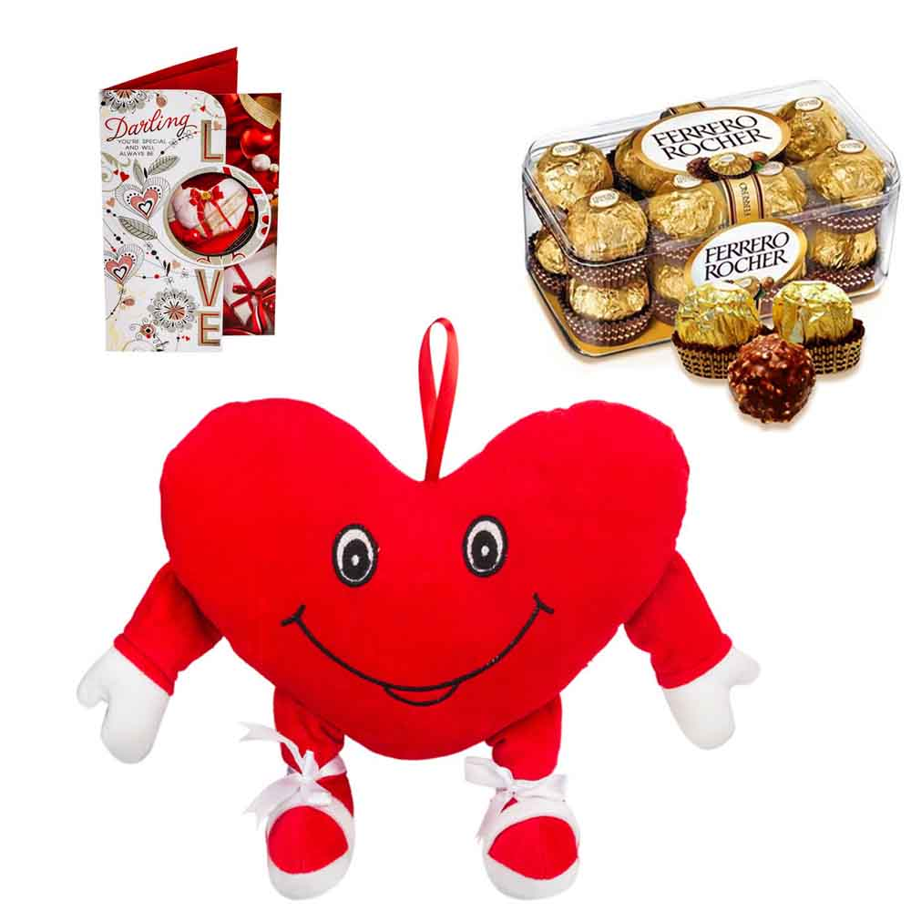 Ferero Rocher with Cuddly Heart