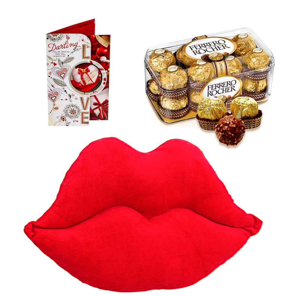 Ferero Rocher with Sweet Lips