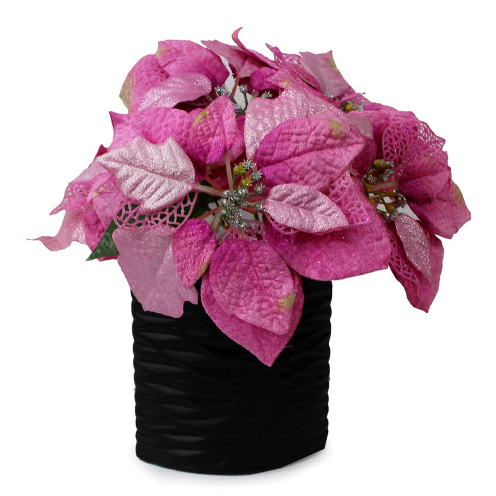 Pointsettia Artificial Arrangement