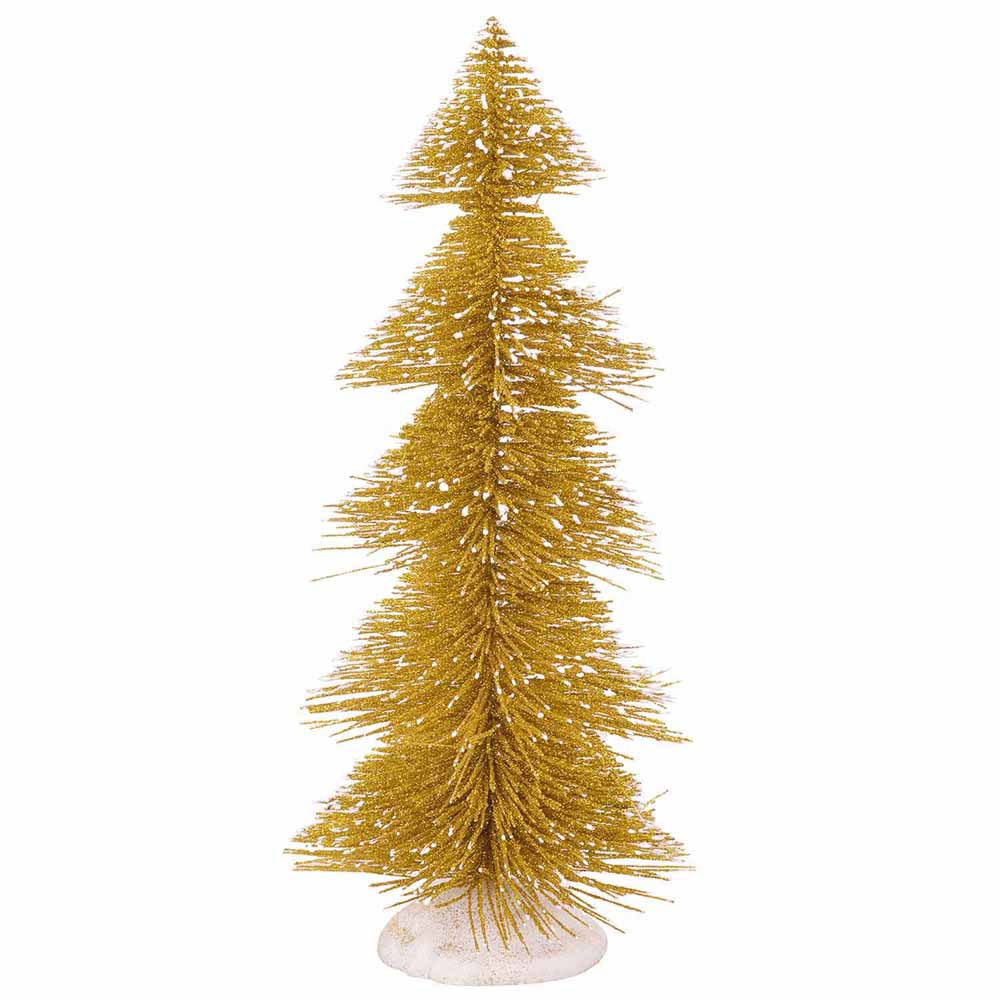 Charming Golden Decorative Christmas Tree!
