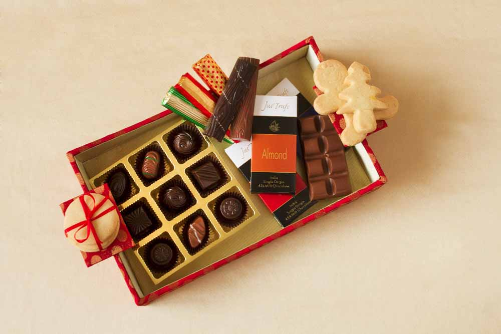 Designer Christmas Chocolate Hamper