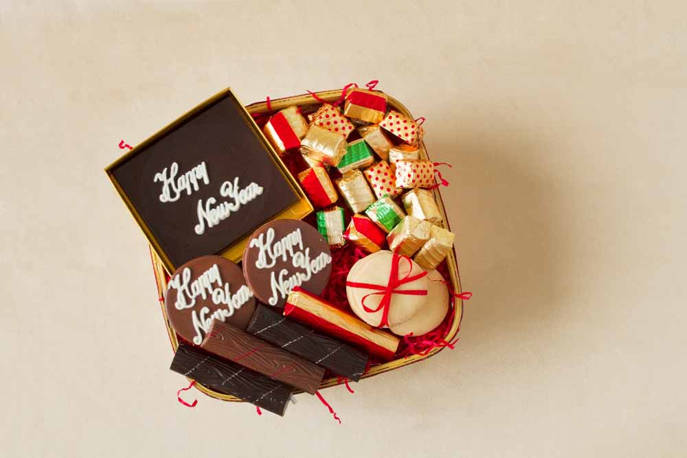 New Year Indulgence Chocolate Hamper