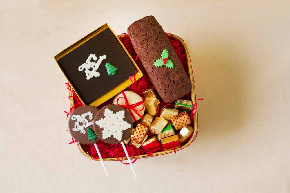 Traditional Chocolate Christmas Hamper
