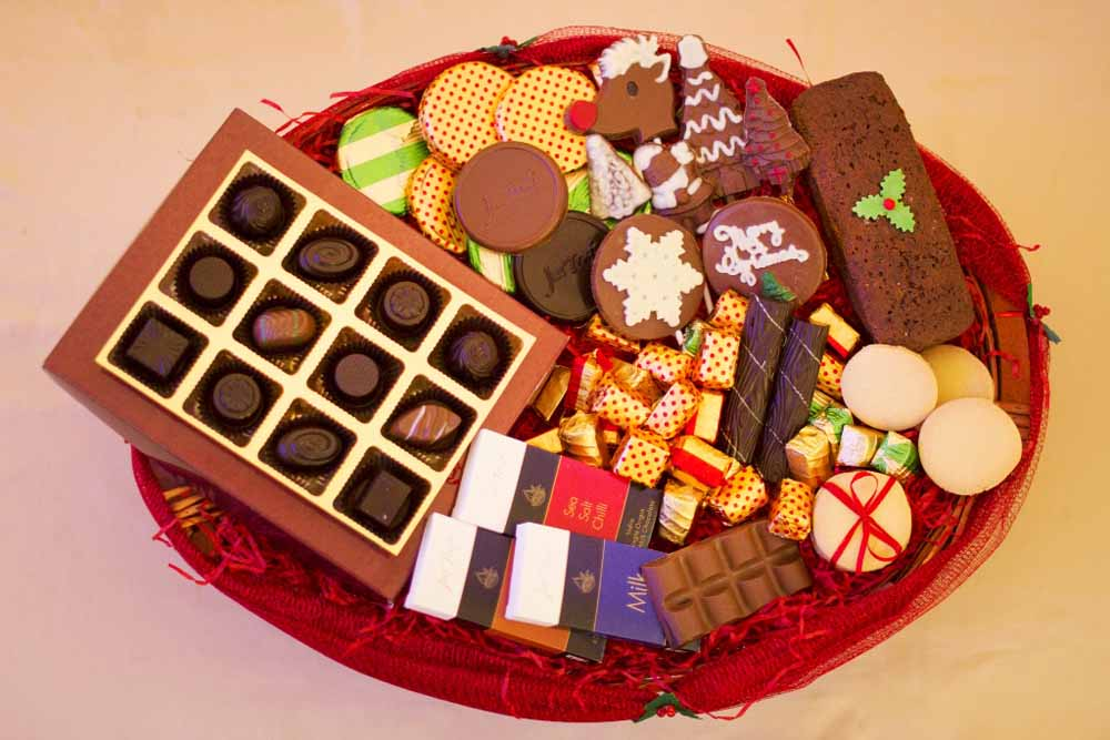Classic and Artisanal Chocolate Christmas Hamper