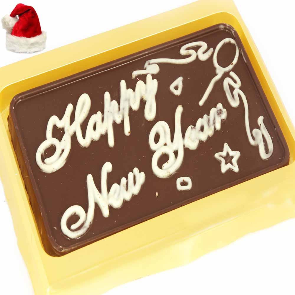 Happy New Year Chocolate Bar India