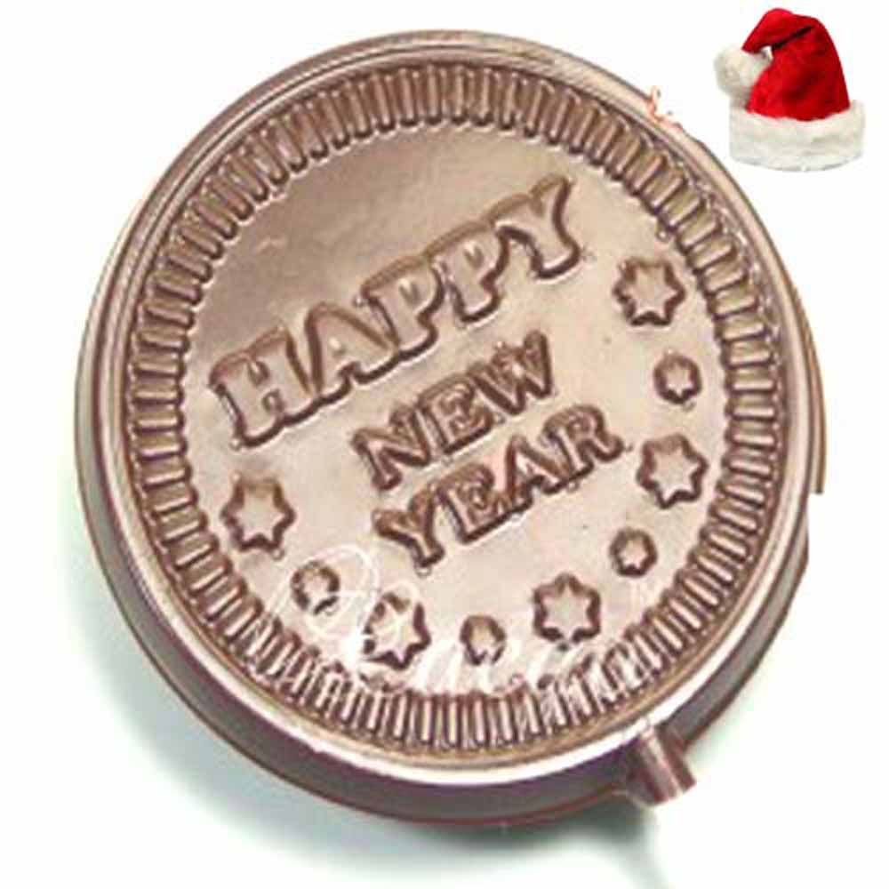 Set of 4 Happy New Year Lollies