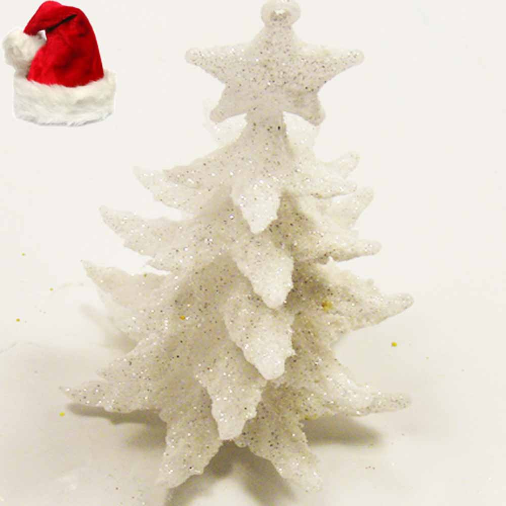 White Christmas Tree Hanging
