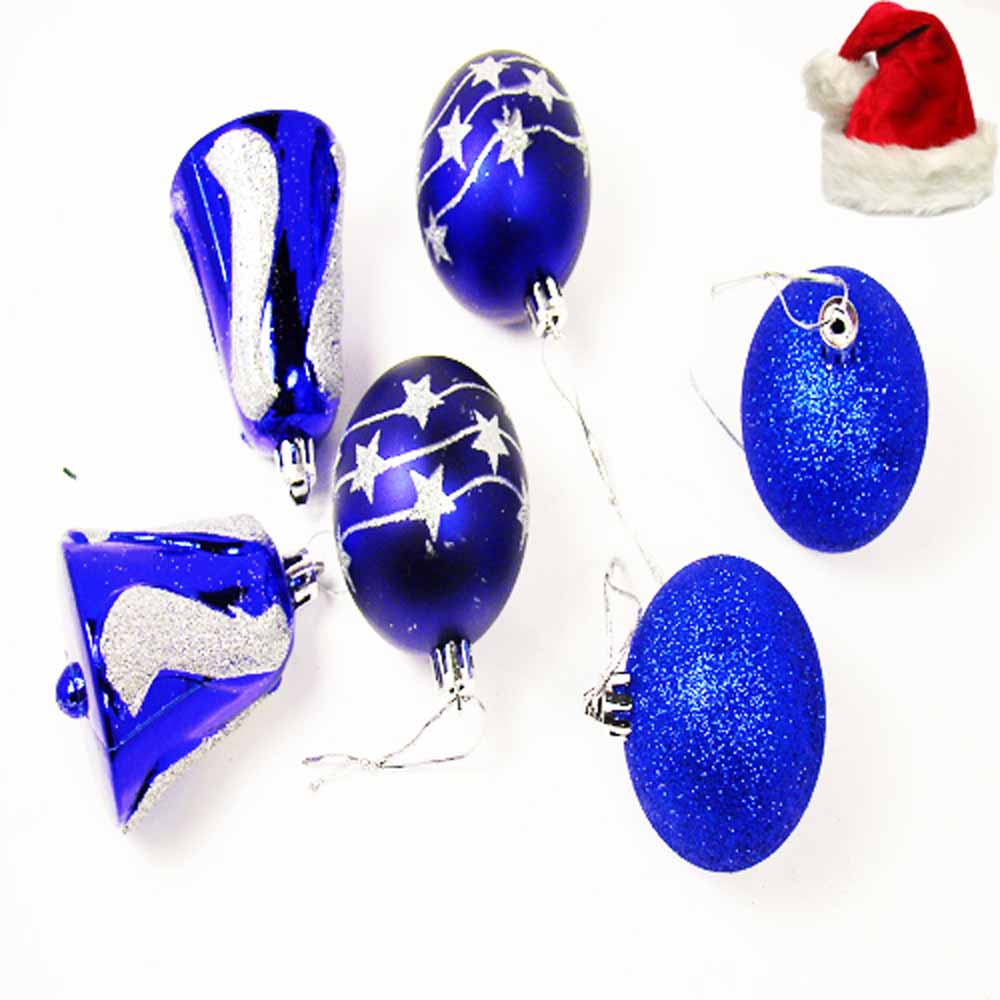 Set of 6 Christmas Decoration