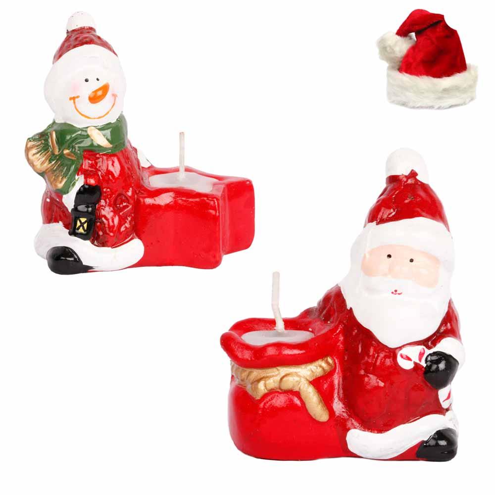 Set of 2 Santa Candles