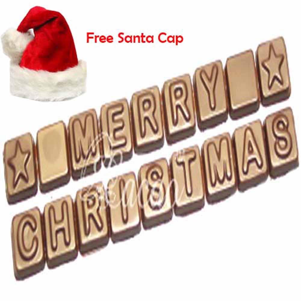 Sugarfree Merry Christmas Alphabets