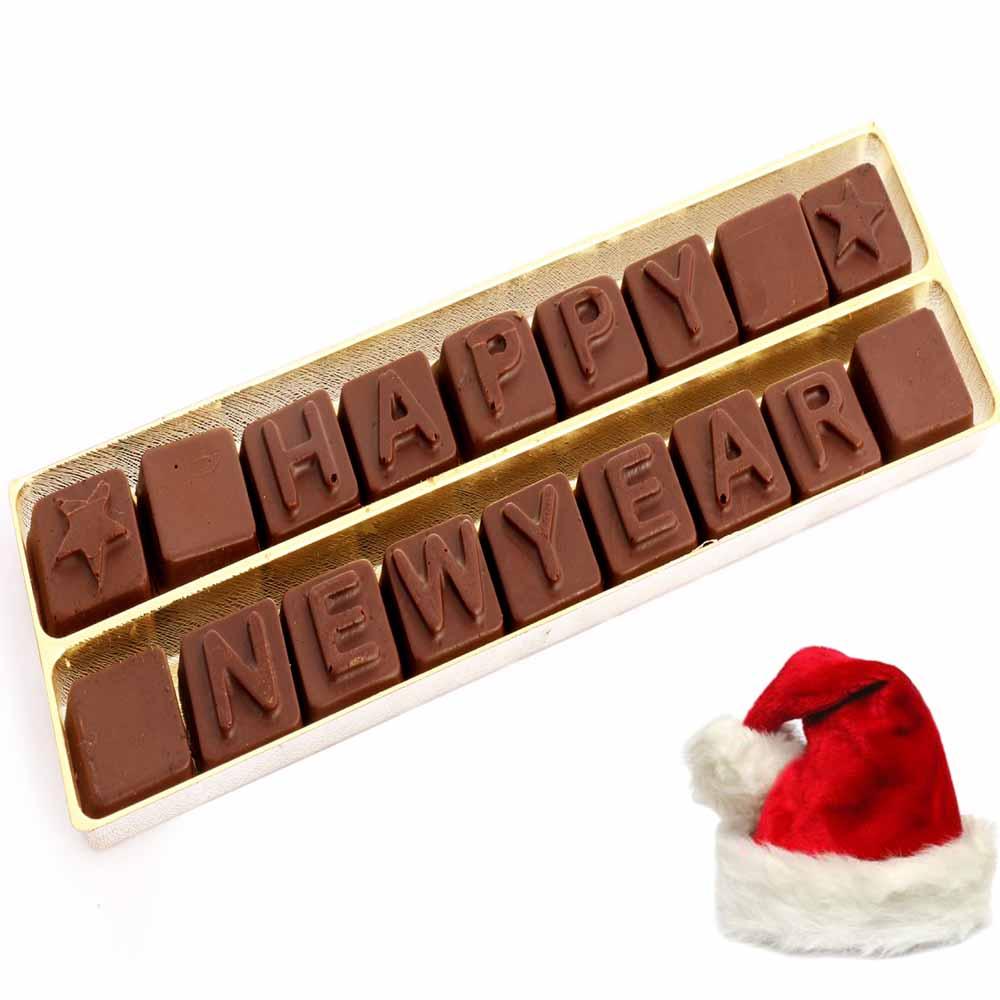 Sugarfree Happy New Year Alphabets