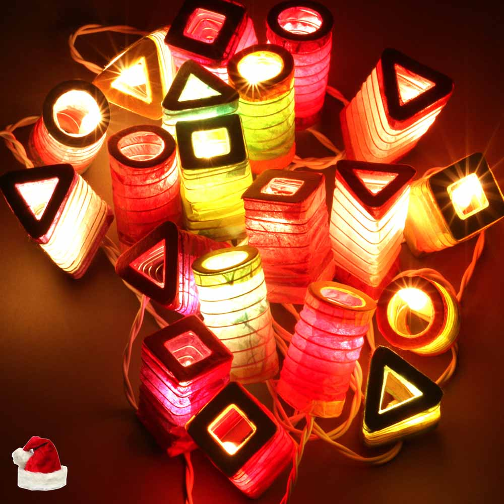 Christmas Light - Geometric Lights