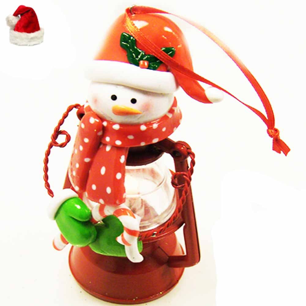Christmas Light Santa with Lantern