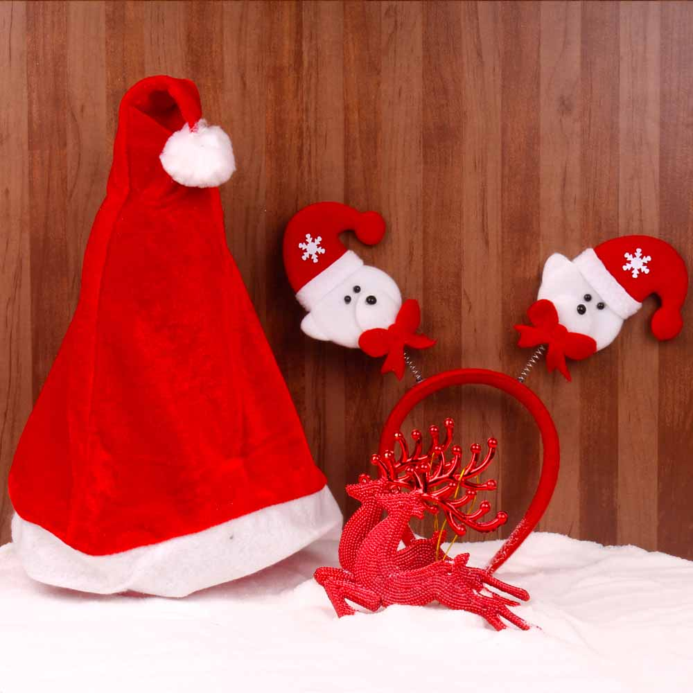 Christmas Decorations-Christmas Accessories in Red