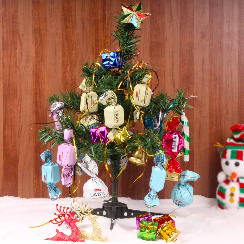 Christmas Hampers-Christmas Chocolate Tree