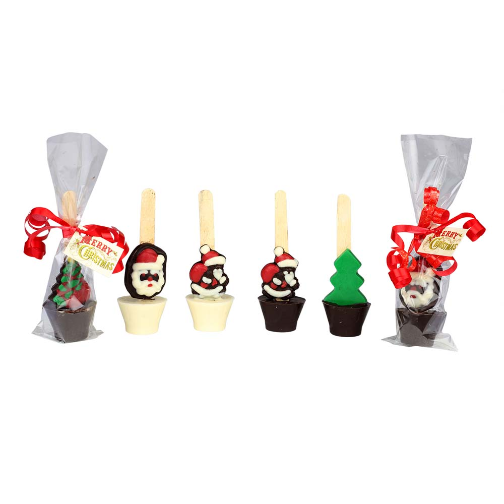 Chocolates & Cookies-Chocolate bell Lollipop