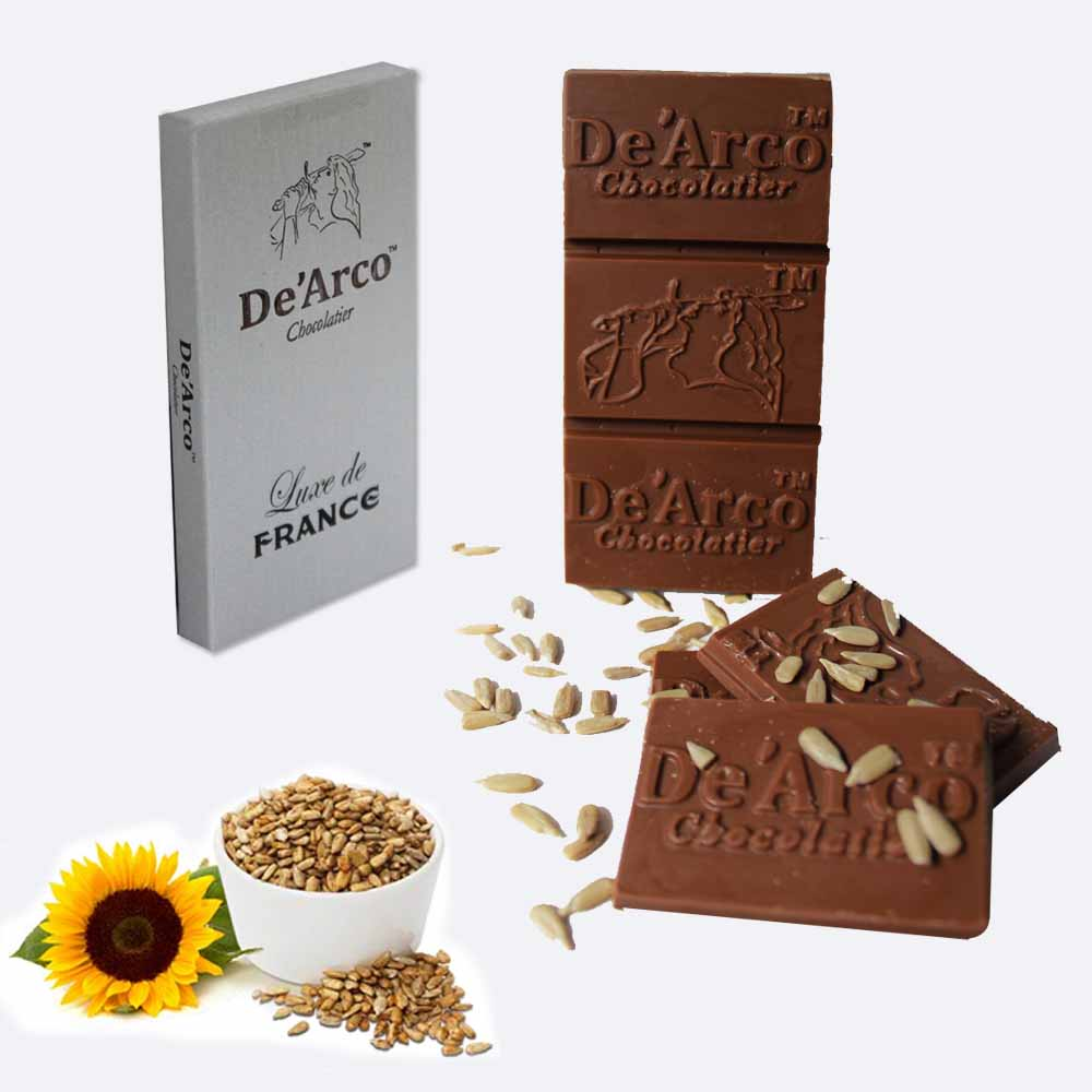 De'Arco Chocolatier 50Bar Sunflower Power 80 g