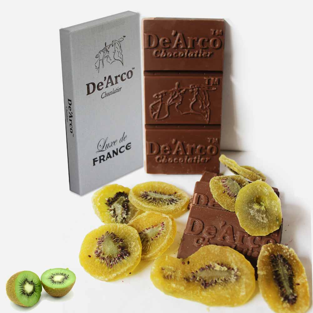 De'Arco Chocolatier 50Bar Super Kiwi 80 g