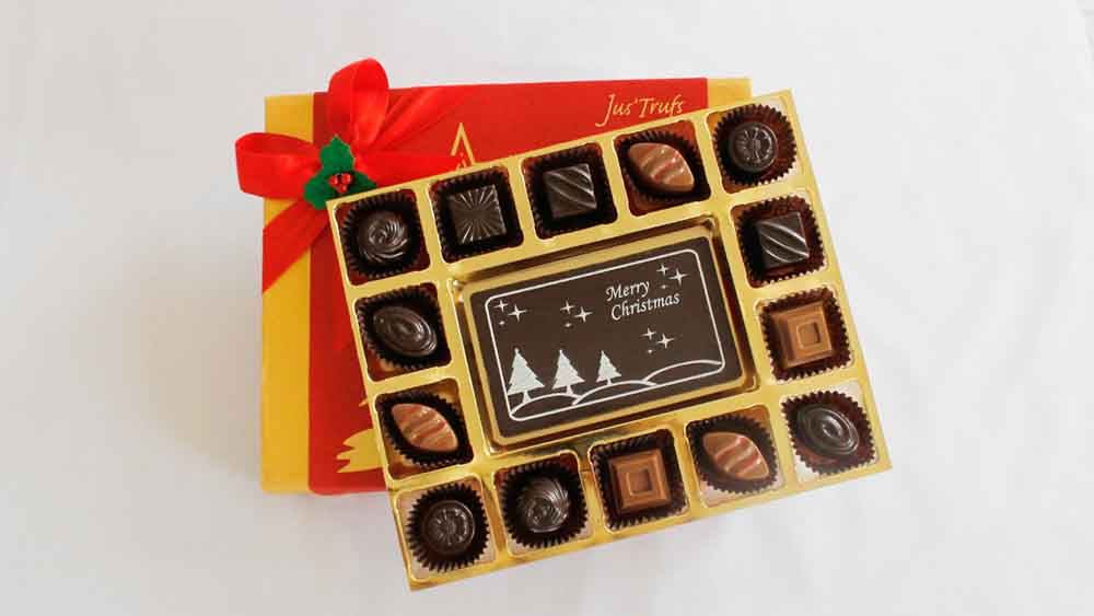 Merry Christmas with Classic Chocolate Truffles