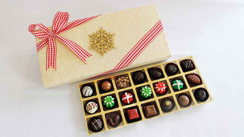 Chocolates & Cookies-Christmas Chocolate Delight
