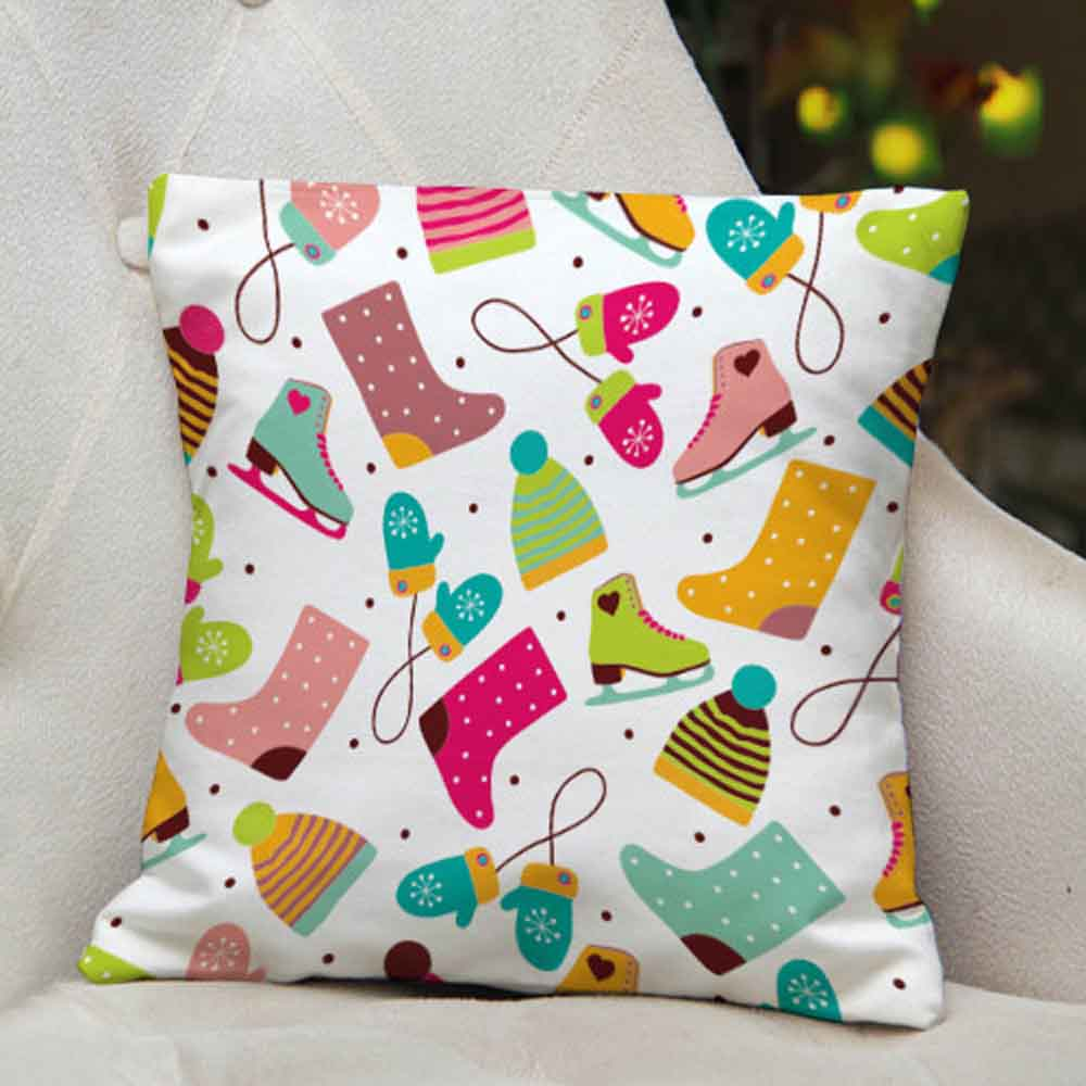 Decorative Printed Christmas Cushion