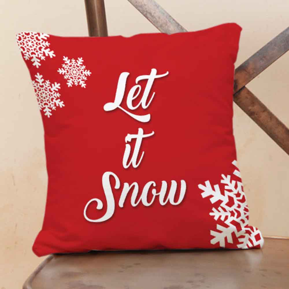 Let It Snow Cushions
