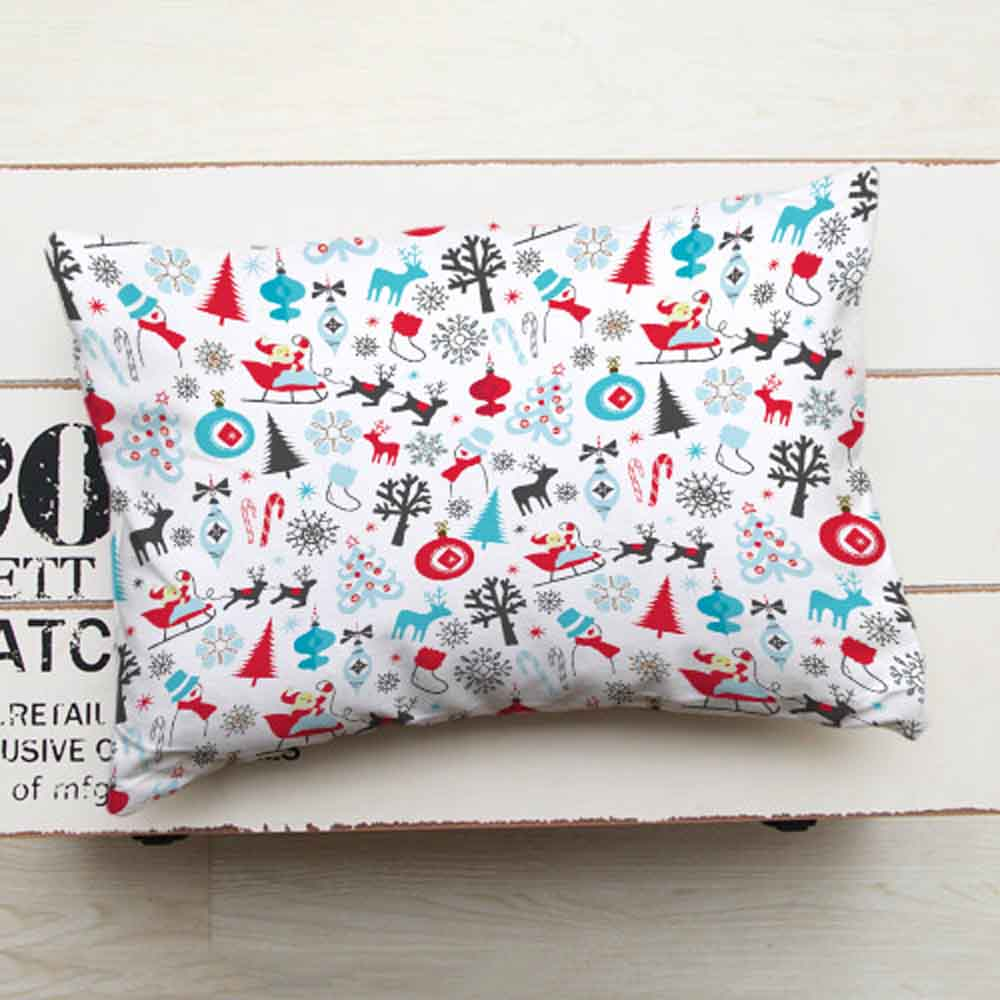 Christmas Decorations-Decorative Printed Christmas Cushion