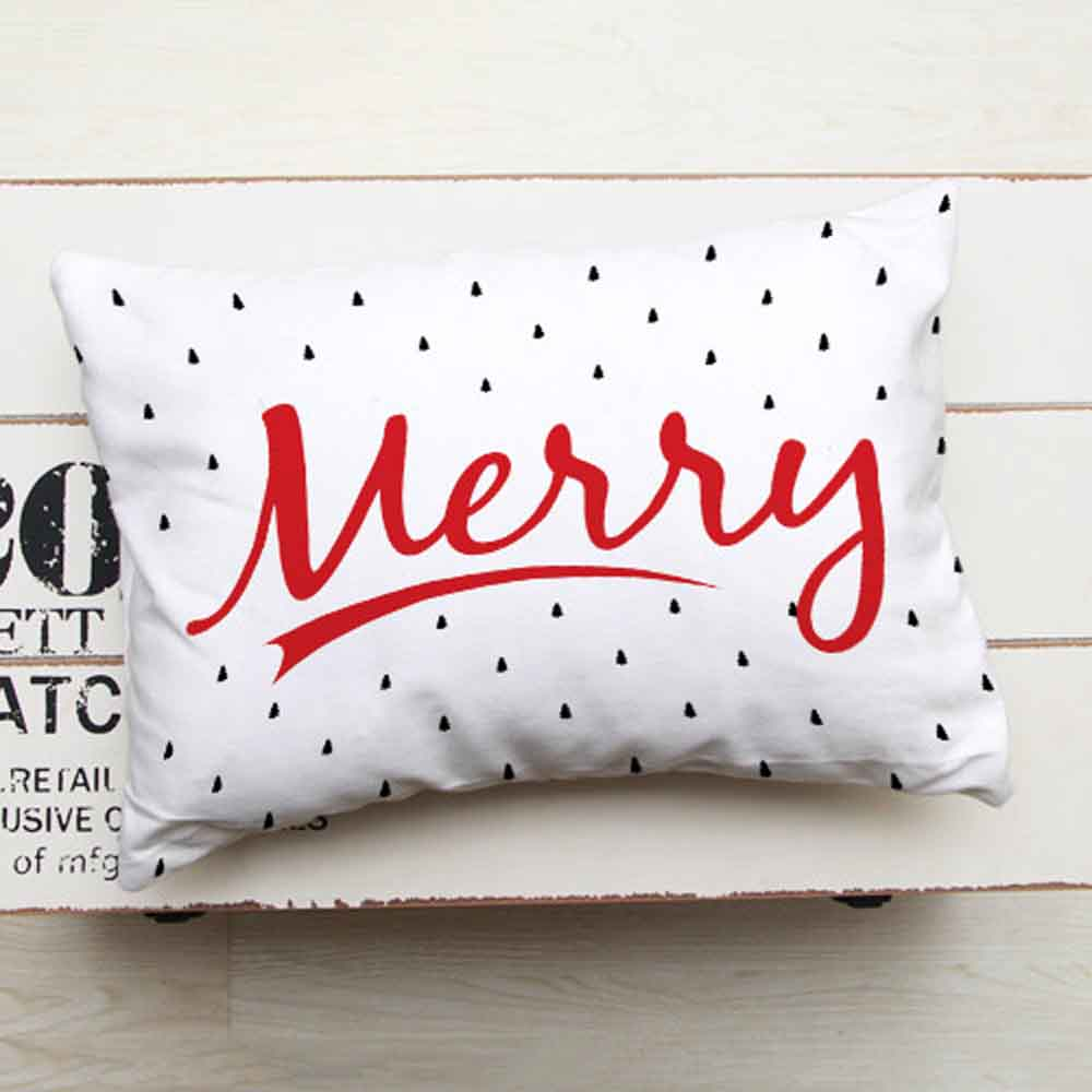 Printed Greeting Cushion