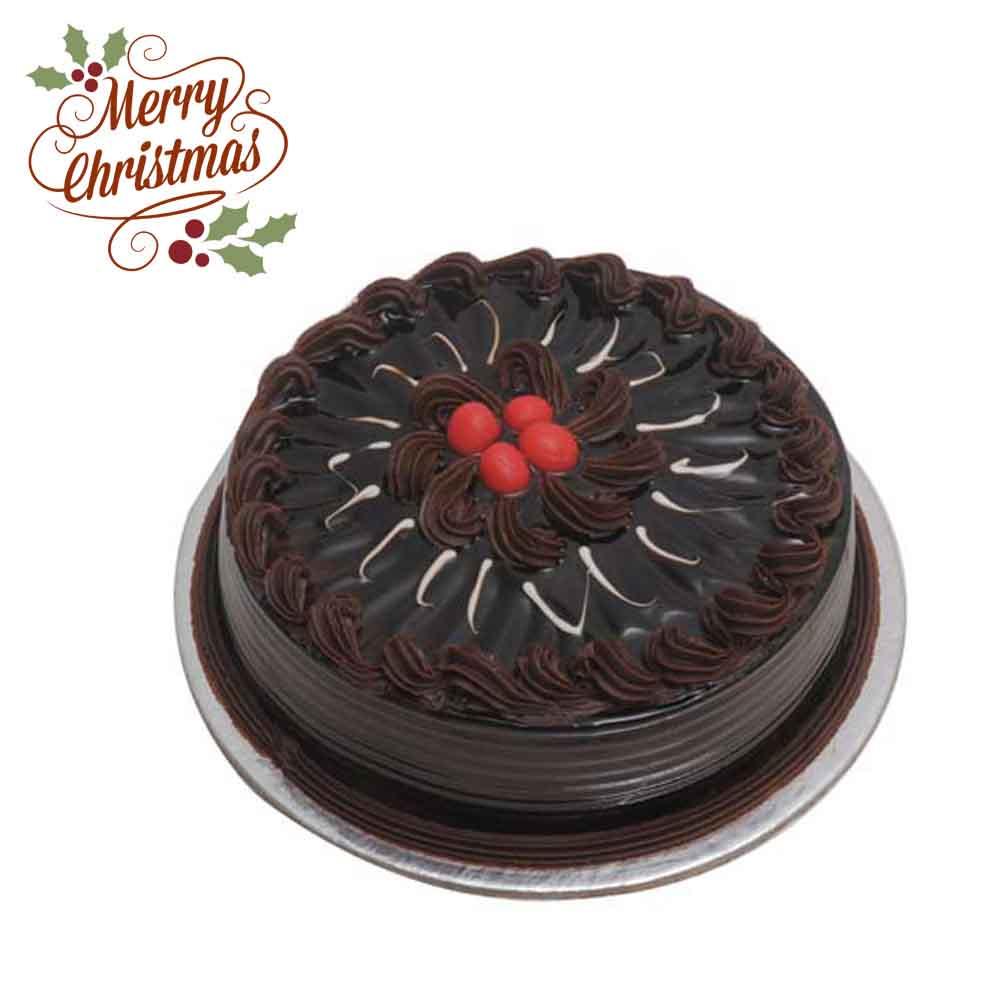 Cakes-Eggless Truffle Cake Half kg