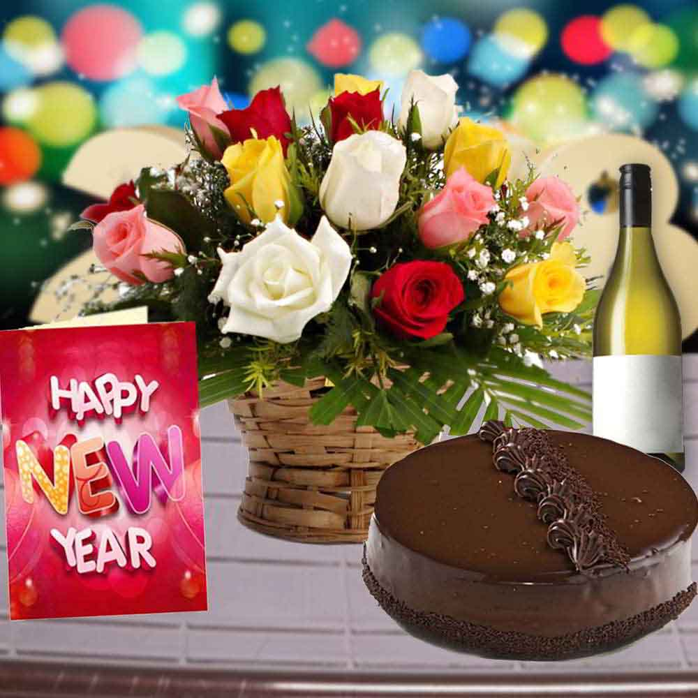Floral Hampers-Special New Year Gifting Combo