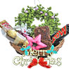 Festive Holiday Basket